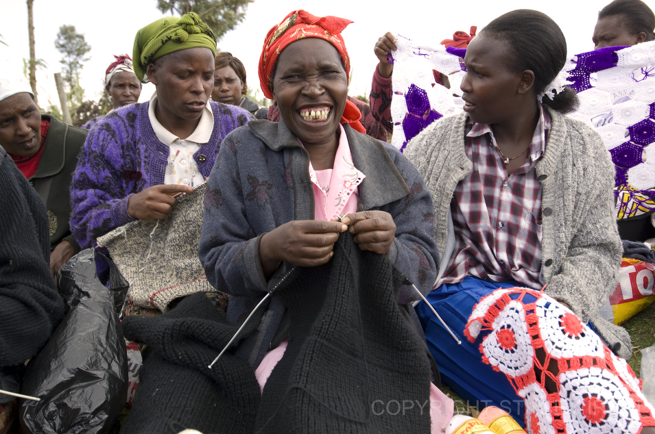 Group Of People Knitting : Knitting group by photographer stacey irvin kenya gallery