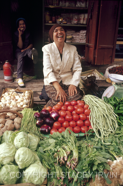 Laughing with Vegetables